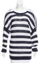 Derek Lam 10 Crosby Striped Linen Sweater