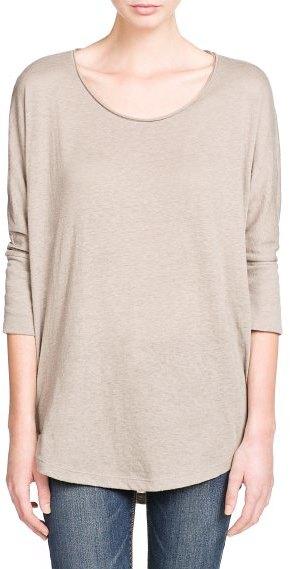 MANGO Outlet Dolman Sleeve Lightweight T-Shirt