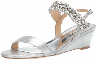 Badgley Mischka Women's Larisa Wedge Sandal