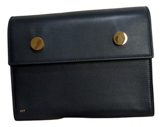 rsvp Navy Leather Handbags