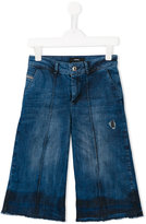 Diesel wide leg jeans - kids - Cotton/Spandex/Elastane - 10 yrs