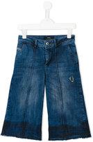 Diesel wide leg jeans - kids - Cotton/Spandex/Elastane - 8 yrs