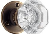Rejuvenation Tate Octagonal Crystal Knob Interior Door Set