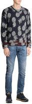 Valentino Pineapple Print Sweatshirt