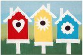 Liora Manné Trans Ocean Imports Visions III Birdhouses Doormat - 20'' x 29 1/2''