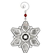 Waterford 2016 Annual Snow Crystal Pierced Christmas Ornament by