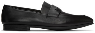 Ermenegildo Zegna Black LAsola Loafers
