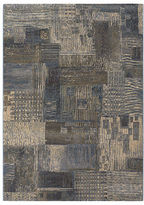 "Couristan Area Rug, Taylor Abstract Mural Stucco 2'7"" x 7'10"" Runner Rug"