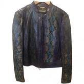 Roberto Cavalli Purple Python Jacket for Women