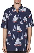 Barney Cools Yacht Club Regular Fit Button-Down Shirt
