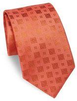 Charvet Textured Square Silk Tie