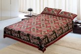 Jaipur textile Hub Cotton Double Bedsheet With 2 Pillow Covers(JTH-CBO-42)