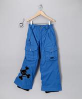 Paul Frank Royal Blue Skurvy Insulated Pants - Boys