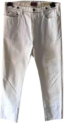 Vivienne Westwood White Cotton - elasthane Jeans