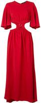 Ellery cut-off waist long dress - women - Spandex/Elastane/Viscose - 10