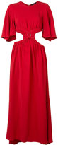 Ellery cut-off waist long dress - women - Spandex/Elastane/Viscose - 6