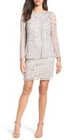Pisarro Nights Women's Embellished Dress & Jacket