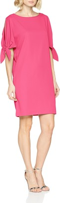 Gina Bacconi Women's Mireya Tie Sleeve Party Dress