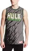 Marvel Men's Hulk Smash Basketball Jersey T-Shirt