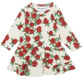 Mini Rodini Rose Print Frill Dress