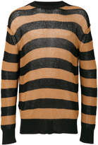 McQ stripped knitted jumper
