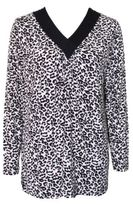 Yuu Leopard Sleep Top