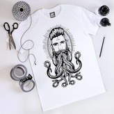 Art Disco Neptune Print Unisex T Shirt