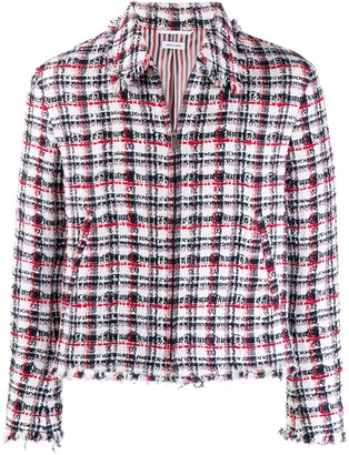 Thom Browne Frayed Edge Golf Jacket