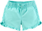 Carter's Ruffle Twill Shorts