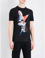 Neil Barrett Punked Britain Cotton T-shirt