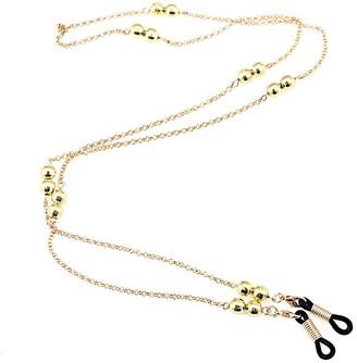 Kesheng Eyeglasses Chain Sunglasses Chain Strap with Metal Beads 76cm for Women