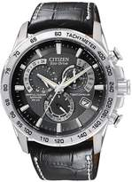 Citizen Eco-Drive Perpetual Chrono A.T Radio-Controlled Strap Mens Watch