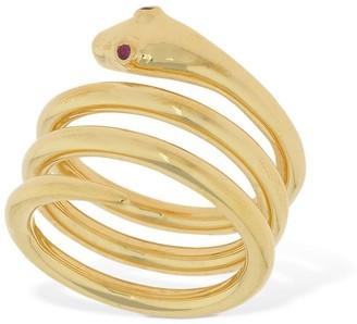 Sophie Buhai Snake Ruby Ring