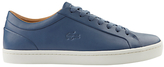 Lacoste Straightset Trainers, Dark Blue