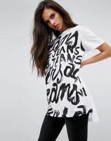Versace Text Logo T-shirt