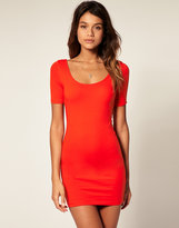 Asos Body-Conscious Dress with Scoop Neck