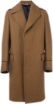 Lanvin single breasted coat - men - Viscose/Wool - 46