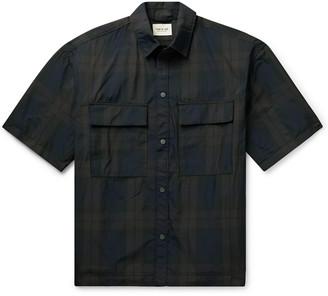 Fear Of God Oversized Checked Nylon-Twill Shirt