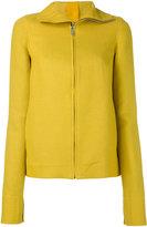 Rick Owens hooded sweatshirt - women - Linen/Flax/Cotton - 42