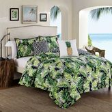Tropical Paradise 5-Piece Queen Comforter Set in Green