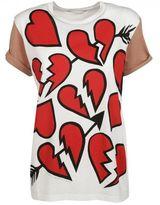 Stella McCartney Hearts Pattern T-shirt