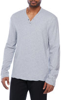 James Perse Refined Jersey Henley