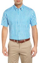 Cutter & Buck Men's Los Rios Check Wrinkle Free Sport Shirt