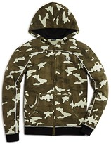 True Religion Boys' Camo Print French Terry Hoodie - Sizes 4-7