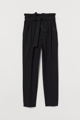 H&M Paper-bag Pants