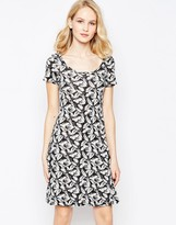 French Connection Hot House Swing Dress