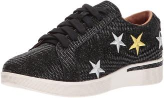 Gentle Souls by Kenneth Cole Women's Haddie Star Low Profile Sneaker Emb Stars Fashion Sneaker