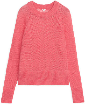 Arket Sheer Wool Nylon Jumper