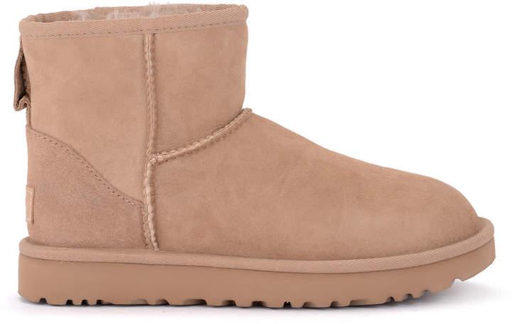 c535a9b55d1 Classic Ii Mini Suede Sheepskin Ankle Boots