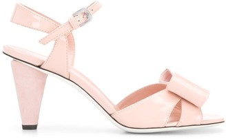 Pollini Front Bow Sandals